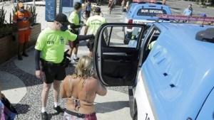 policia 300x169 - Família de deputado é detida na praia por desrespeitar decreto de isolamento social