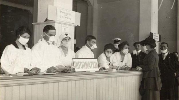 112203596 foto2 californiahistoryroomcaliforniastatelibrarysacramento - O que era a 'Liga Anti-Máscara', que protestava contra restrições na gripe espanhola - Por Alessandra Corrêa