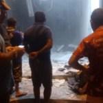 20200528 011815 - Grupo explode posto do Bradesco e lotérica no Sertão da Paraíba; VEJA VÍDEO