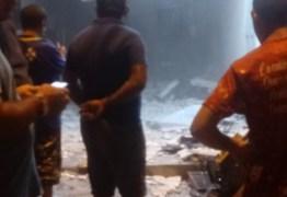 Grupo explode posto do Bradesco e lotérica no Sertão da Paraíba; VEJA VÍDEO