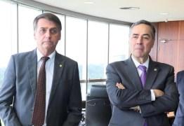 EMBATE: Bolsonaro diz que decisão de Barroso atende a deputado chavista
