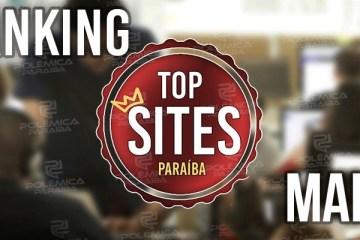 TOP SITES MAIO: Confira os sites paraibanos de jornalismo mais acessados ao longo mês