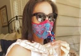 PANDEMIA: Apesar do risco, máscara que ajuda beber 'com segurança' faz sucesso