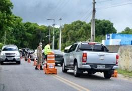 Prefeitura de Alhandra instala barreiras sanitárias restritivas na PB-034