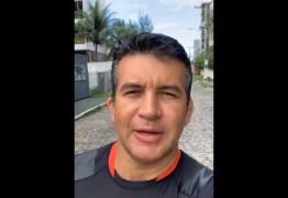 Carlão da Consolação critica Cartaxo e João Azevedo por manterem isolamento – VEJA VÍDEO