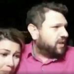 """Capturar 100 - Após ameaçar Moraes, Sara Winter aparece chorando ao lado de homem que diz que ministro """"tentou destruir"""" a vida da ativista - VEJA VÍDEO"""
