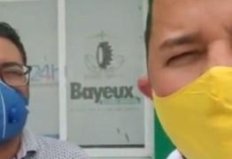 Vereadores flagram irregularidades durante fiscalização no Hospital Materno e UPA de Bayeux