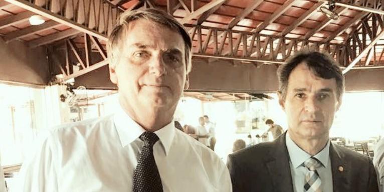 Capturar 75 - Jair Bolsonaro parabeniza Romero Rodrigues por permitir uso da cloroquina: ' ganhou um ponto' - VEJA VÍDEO