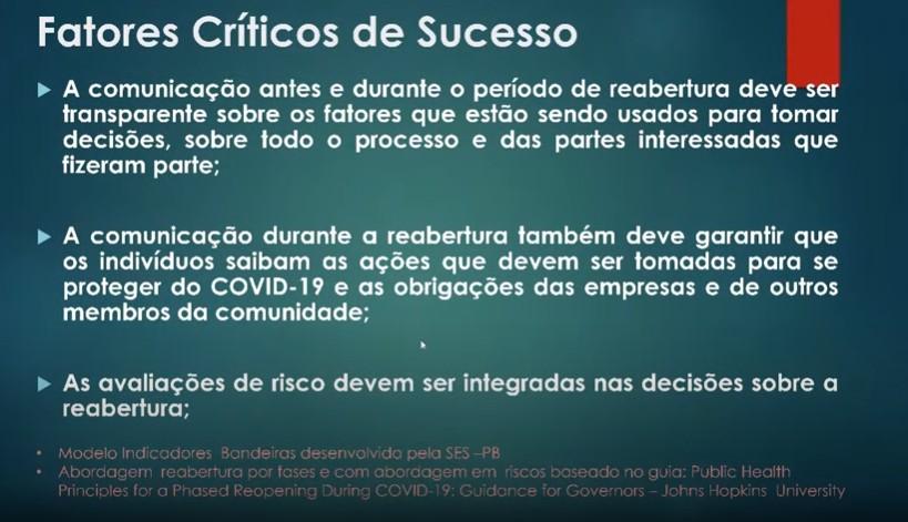 Capturaraa - Na Paraíba as decisões são tomadas baseadas na ciência, diz João ao apresentar plano de retomada da economia - VEJA VÍDEO