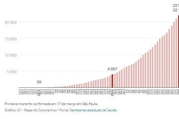 Capturarg 1 - Brasil tem 23,5 mil mortos e mais de 376 mil casos de coronavírus