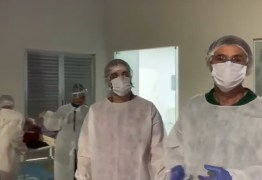 Hospital de Campanha de Campina começa a receber paciente de Covid-19 – VEJA VÍDEO