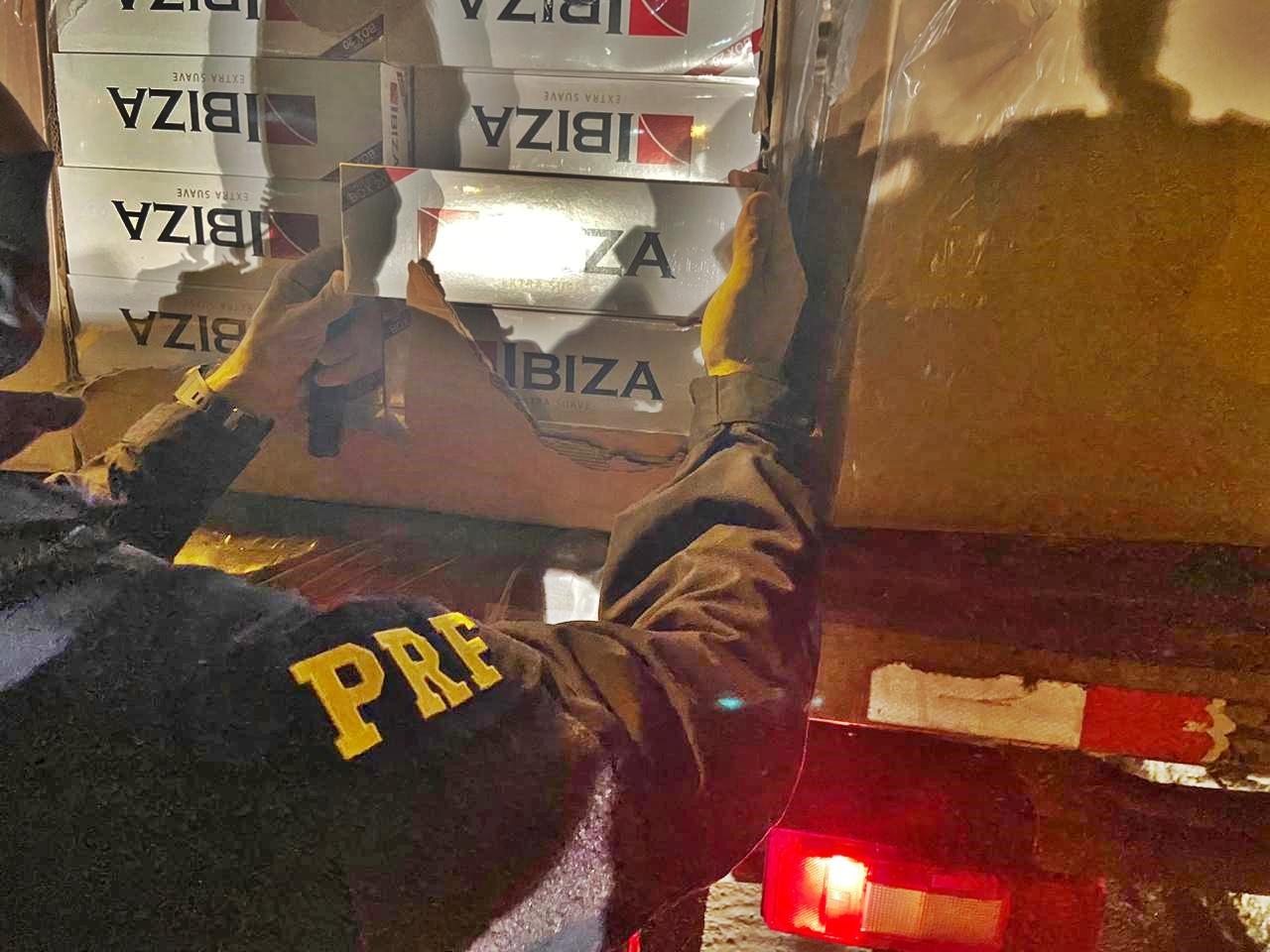 WhatsApp Image 2020 05 15 at 10.14.27 - PRF na Paraíba apreende cargas de cigarro contrabandeados avaliada em mais de R$3 milhões