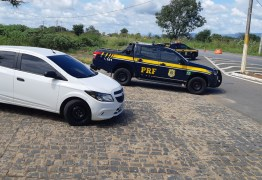 Veículo roubado em Brasília é recuperado pela PRF na Paraíba durante Operação Tamoio