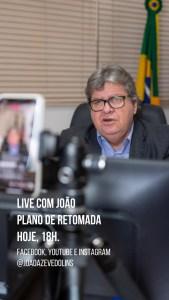 """WhatsApp Image 2020 05 31 at 17.17.42 169x300 - João diz que não está preocupado com eleição este ano e muito menos com reeleição: """"Minha obrigação agora é salvar vidas"""""""