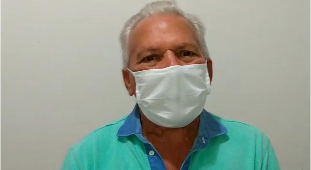 Zé Aldemir 1 - 40% DO PULMÃO COMPROMETIDO:  com Covid-19, prefeito Zé Aldemir é internado em hospital