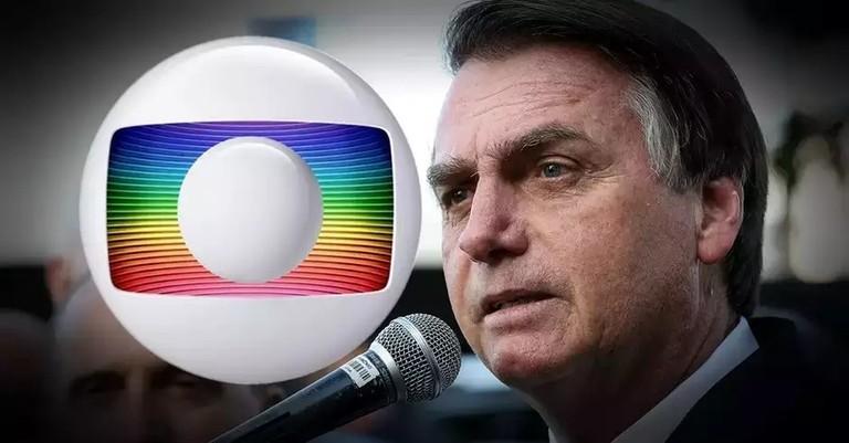 a53cee95 a9f6 4ab2 82ab 3a699c979686 - Bolsonaro afirma que planeja não renovar concessão da Globo em 2022
