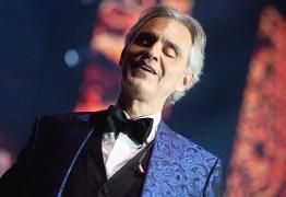 Andrea Bocelli revela que ele e familiares contraíram coronavírus