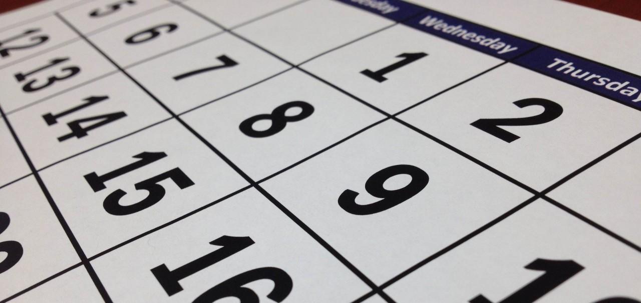 calendário - PROGRAME-SE: 2021 vai ter três feriados nacionais prolongados - SAIBA QUAIS SÃO