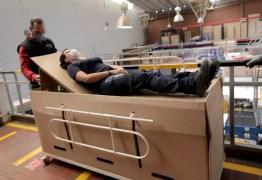 CAMA-CAIXÃO: Empresário colombiano cria cama hospitalar que pode ser convertida em caixão