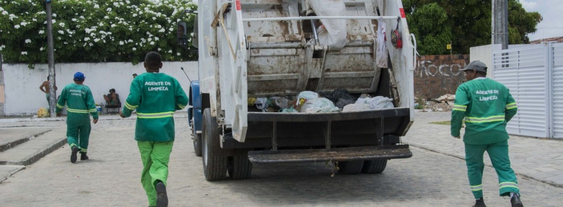 Bairros de Campina Grande tem mudanças na coleta de lixo a partir desta segunda-feira