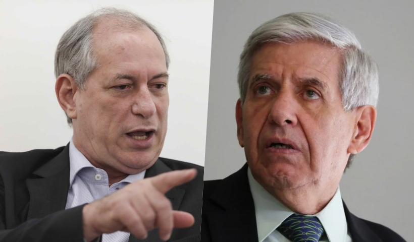 ciro heleno - Ciro Gomes e Augusto Heleno discutem após general chamar ex-ministro de 'lixo humano'