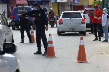 LOCKDOWN: região Metropolitana de João Pessoa terá dez dias com instalação de barreiras e rodízio de veículos