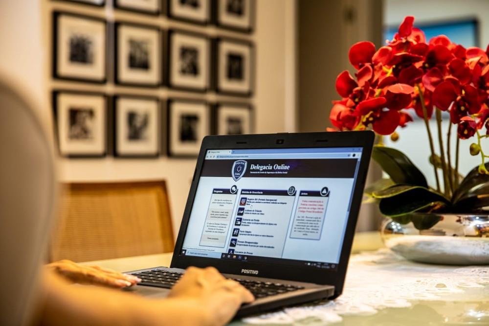 delegacia online - Delegacia online tem aumento de 120% no número de registros em três meses, na PB