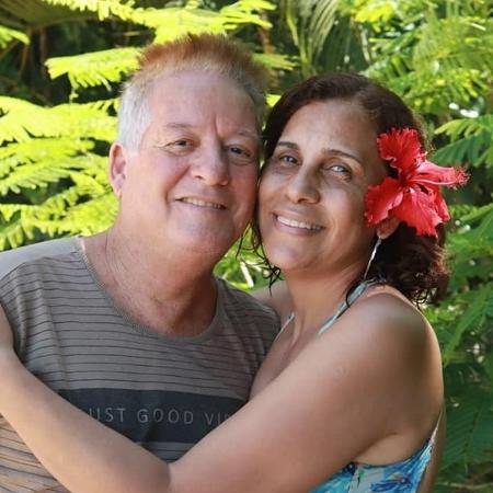 dione araujo perdeu o marido vitima de covid 19 1589466761997 v2 450x450 - Viúva de PM que era contra isolamento quer alertar sobre gravidade da Covid-19: 'Levem a sério'
