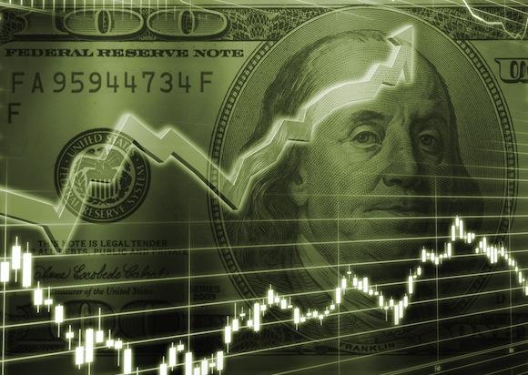 dollargraph580 - Dólar quebra novo recorde ao disparar e atingir R$5,79 na manhã desta quinta-feira