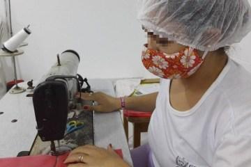 eaa5c57e 1f1b 4f43 89bc 8a2563c42d88 - Governo do Estado, por meio da Seap, produz mais de 100 mil máscaras