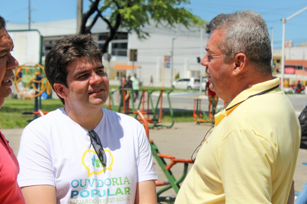 eduardo - Ouvidoria Popular do deputado Eduardo completa cinco anos, com mais de 10 mil pessoas atendidas e 2 mil proposituras encaminhadas