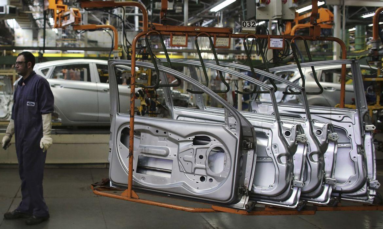industria automobilisticaautomovel fabrica - Atividade econômica tem queda de 1,95% no primeiro trimestre