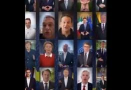 Líderes da União Europeia defendem solidariedade para que bloco saia fortalecido da pandemia – VEJA VÍDEO