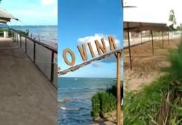 Mar avança em Cabedelo e invade famoso point na praia de Ponta de Campina – ASSISTA