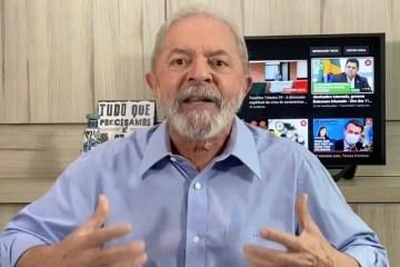 """lula coroanvirus - É preciso parar Bolsonaro: Lula pede que """"Lula Livre"""" vire """"Brasil Livre"""" - VEJA VÍDEO"""
