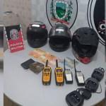 material apreendido 1 - Rádios Comunicadores usados por traficantes de drogas são apreendidos em Rio Tinto