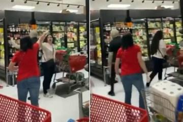 Aos gritos, clientes expulsam de mercado mulher que não usava máscara
