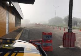 PRF recomenda cautela após formação de neblina na Grande João Pessoa