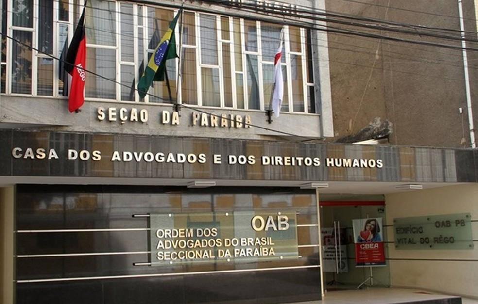 oab - Liminar autoriza funcionamento de escritórios de advocacia, em João Pessoa