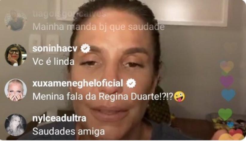 portaldoholanda 988540 imagem foto 1amazonas - Xuxa cobra manifestação de Ivete Sangalo sobre Regina Duarte e é ignorada