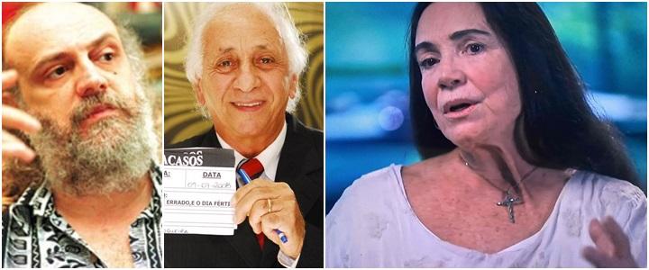 regina duarte aldir blanc - Aldir Blanc e Flávio Migliaccio estão vivos. Quem morreu foi Regina Duarte. Por Kiko Nogueira