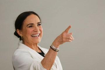 regina duarte - Regina Duarte questiona utilidade da vacina contra Covid-19