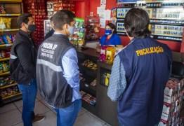 Três lojas são fechadas por descumprirem decretos contra a Covid-19, em João Pessoa