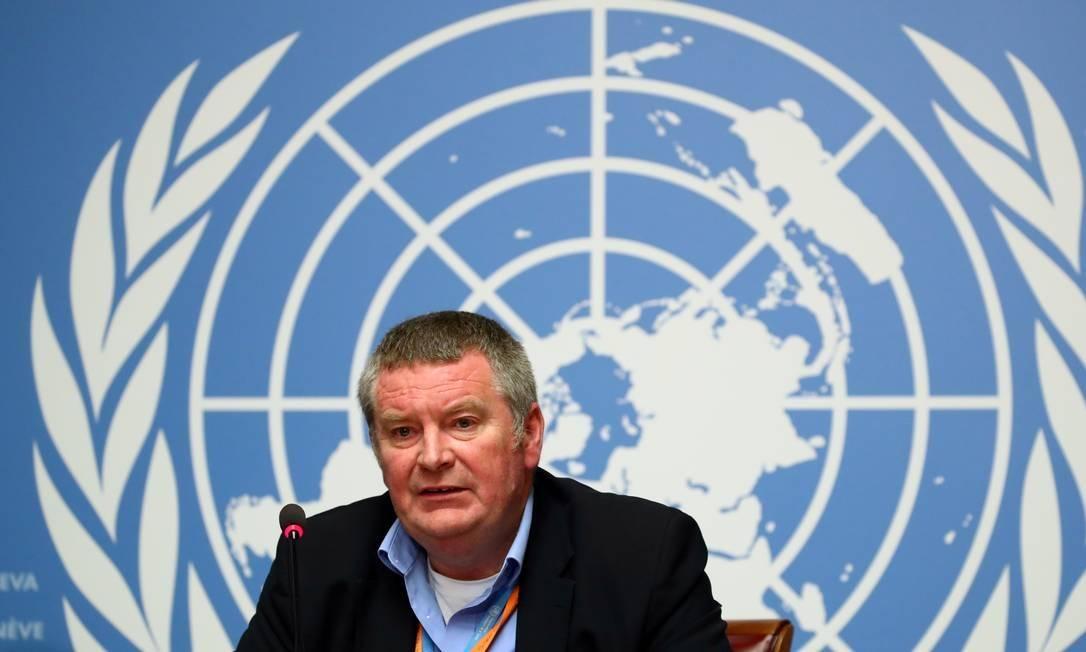 x88126802 FILE PHOTO Mike Ryan Executive Director of the World Health Organisation WHO attends a.jpg.pagespeed.ic .KrD MCmHv2 - Há um longo caminho até o fim da pandemia, diz OMS