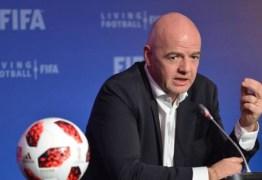 Fifa mantém eliminatórias sul-americanas da Copa para setembro