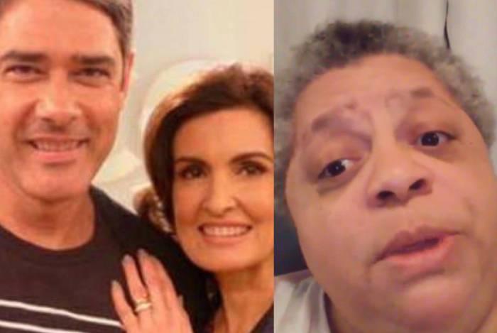 Ex-cozinheira detona Fátima Bernardes e William Bonner nas redes sociais