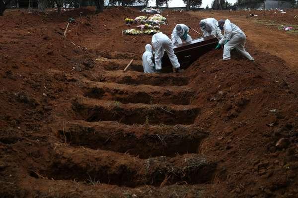 Brasil registra 1.005 mortes por coronavírus em 24 horas