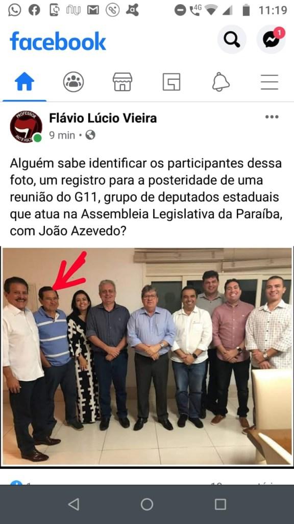 """36d64f09 0679 4055 b584 18b22e153097 576x1024 - Professor Flávio Lúcio Vieira critica nome de Anísio Maia para a PMJP: Atitude vergonhosa e sabuja, G11 é o """"centrão"""" da Paraíba"""