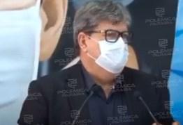 João Azevedo critica politicagem e uso de fake news sobre ações do governo durante pandemia de coronavírus