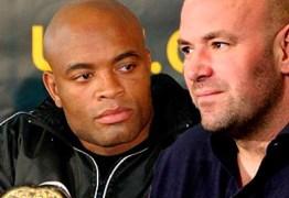 Dana White demonstra não ter interesse em lutas pedidas por Anderson Silva